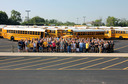 Bus drivers train for new school year