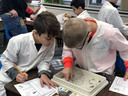 Stingley students dissect owl pellets