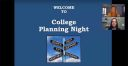 CHS Guidance presents virtual College Planning Night
