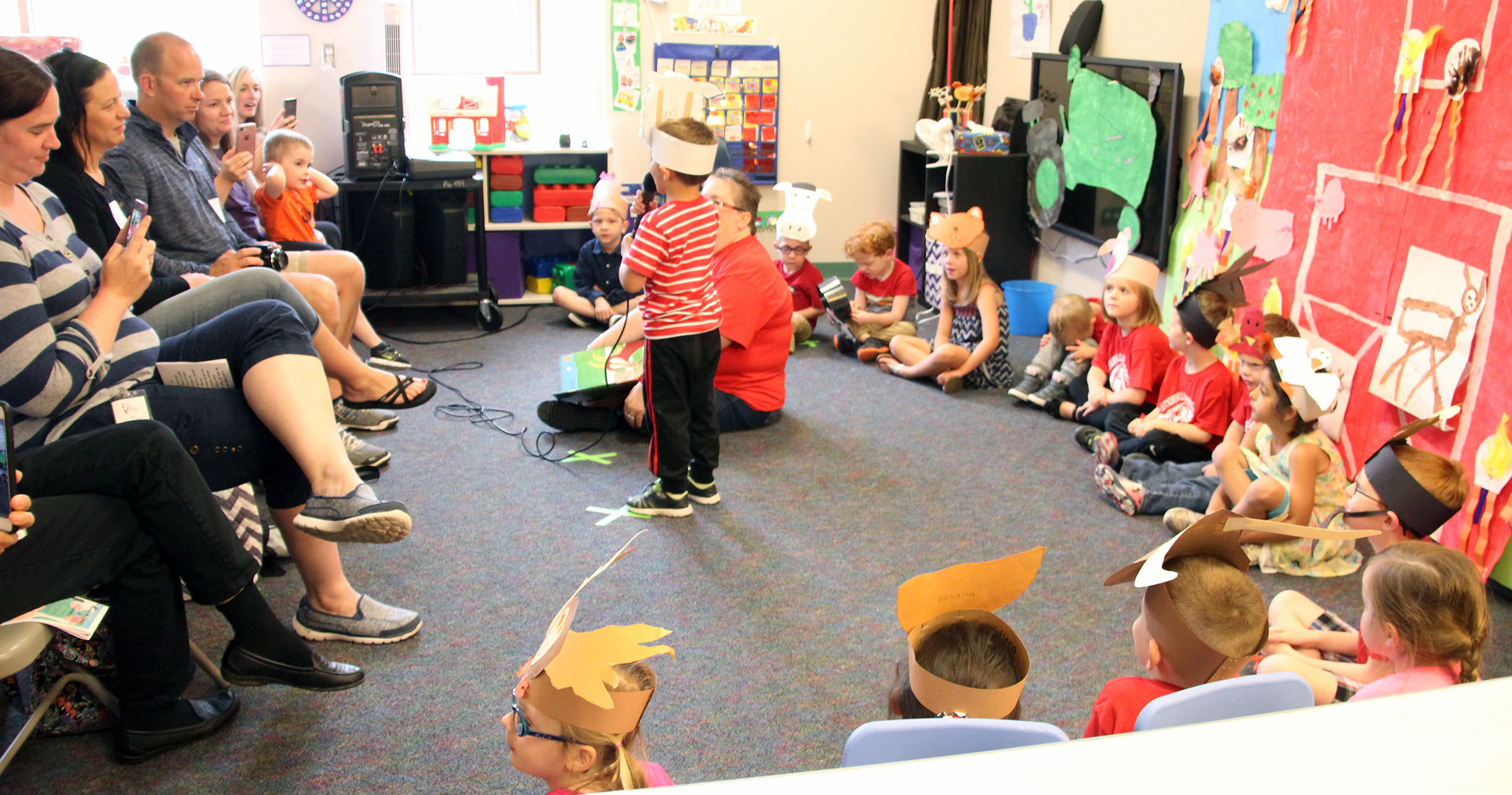 Image of preschool performance